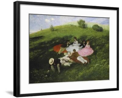 The Picnic, 1873-Paul von Szinyei-Merse-Framed Giclee Print