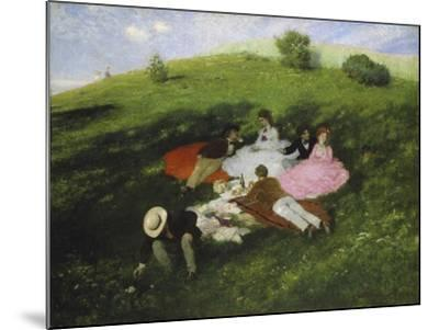 The Picnic, 1873-Paul von Szinyei-Merse-Mounted Giclee Print