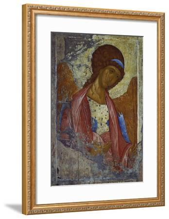 Archangel Michael-Andrei Rubljew-Framed Giclee Print