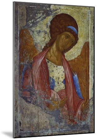 Archangel Michael-Andrei Rubljew-Mounted Giclee Print