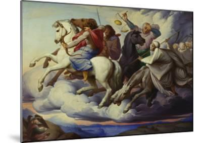 The Horsemen of the Apocalypse, 1838-Edward Jakob Von Steinle-Mounted Giclee Print