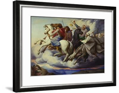 The Horsemen of the Apocalypse, 1838-Edward Jakob Von Steinle-Framed Giclee Print