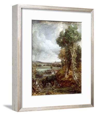 Dedham Vale-John Constable-Framed Giclee Print