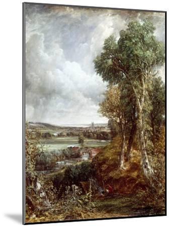 Dedham Vale-John Constable-Mounted Giclee Print
