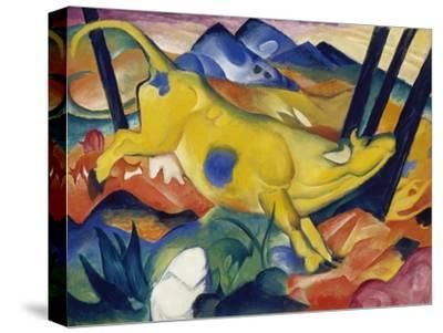 Yellow Cow, 1911-Franz Marc-Stretched Canvas Print