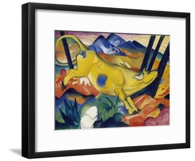 Yellow Cow, 1911-Franz Marc-Framed Giclee Print