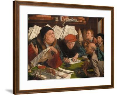 In the Solicitor's Office, 1542-Marinus Van Reymerswaele-Framed Giclee Print