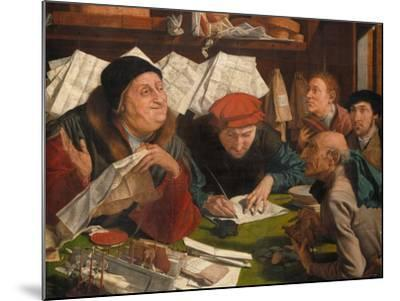 In the Solicitor's Office, 1542-Marinus Van Reymerswaele-Mounted Giclee Print