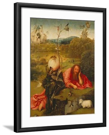 St. John the Baptist in the Desert-Hieronymus Bosch-Framed Giclee Print
