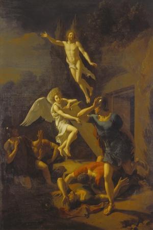Auferstehung Christi, 1719-Adriaan van der Werff-Stretched Canvas Print