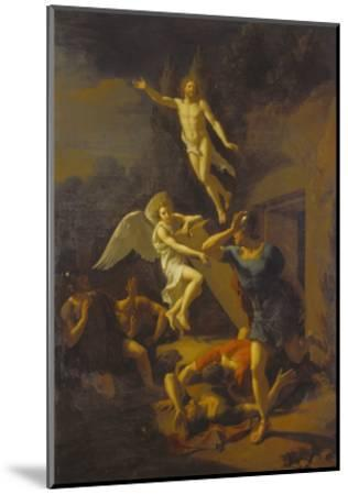 Auferstehung Christi, 1719-Adriaan van der Werff-Mounted Giclee Print