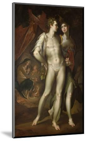 Bacchus and Ceres Leaving Venus, about 1590-Bartholomaeus Spranger-Mounted Giclee Print