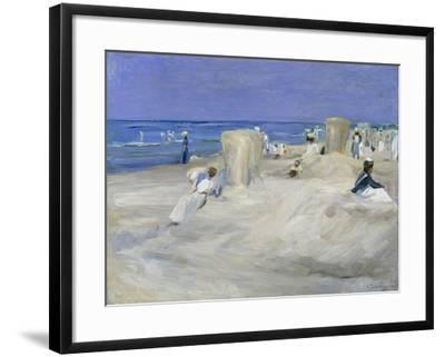 Am Strand Von Nordwijk, 1908-Max Liebermann-Framed Giclee Print