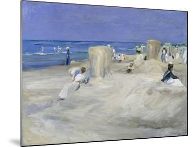 Am Strand Von Nordwijk, 1908-Max Liebermann-Mounted Giclee Print