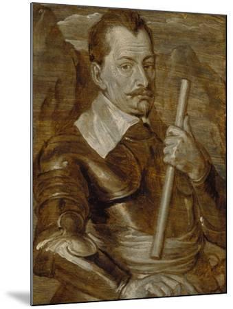 Graf Albrecht Von Wallenstein-Sir Anthony Van Dyck-Mounted Giclee Print
