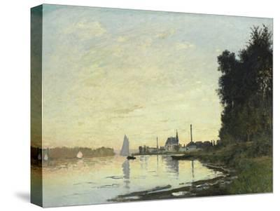 Argenteuil, Late Afternoon, 1872-Claude Monet-Stretched Canvas Print