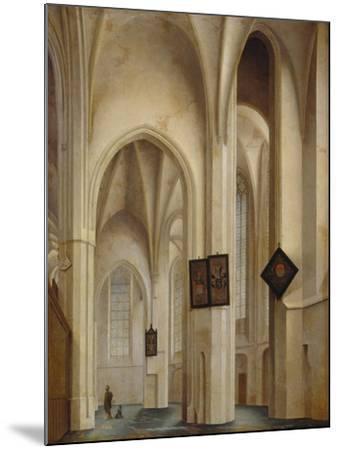 Innenansicht Der St.Jakobs-Kirche in Utrecht, 1642-Pieter Jansz Saenredam-Mounted Giclee Print