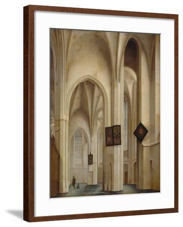 Innenansicht Der St.Jakobs-Kirche in Utrecht, 1642-Pieter Jansz Saenredam-Framed Giclee Print