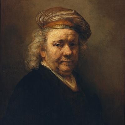 Last Self-Portrait, 1669-Rembrandt van Rijn-Stretched Canvas Print