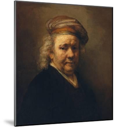 Last Self-Portrait, 1669-Rembrandt van Rijn-Mounted Giclee Print