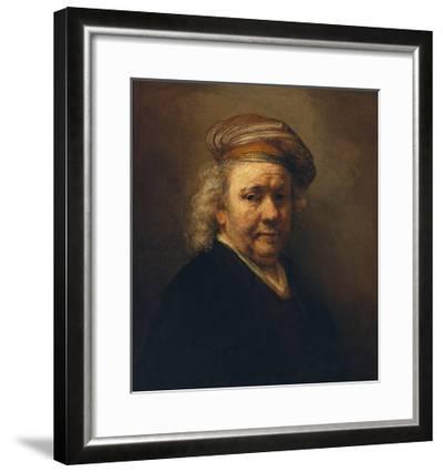 Last Self-Portrait, 1669-Rembrandt van Rijn-Framed Giclee Print