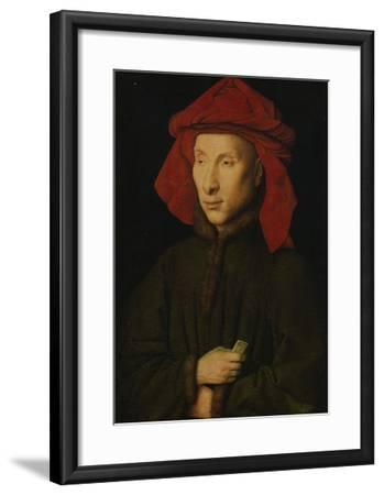 Portrait of Giovanni Arnolfini, about 1439/40-Jan van Eyck-Framed Giclee Print