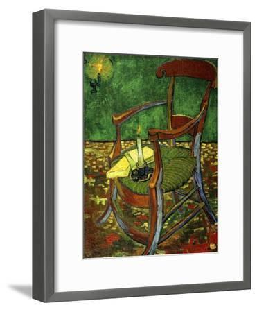 Gauguin's Chair (With Candle), 1888-Vincent van Gogh-Framed Giclee Print