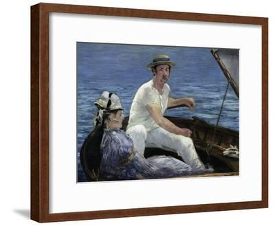 Boating, 1874-Edouard Manet-Framed Giclee Print