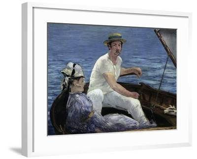 Boating, 1874-Edouard Manet-Framed Giclee Print