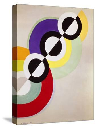 Prismen, 1934-Robert Delaunay-Stretched Canvas Print