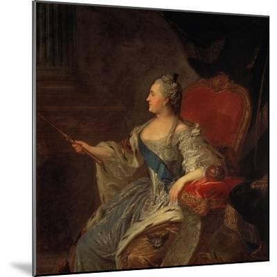 Bildnis Der Zarin Katharina Ii, 1763-Fjodor Rokotov-Mounted Giclee Print
