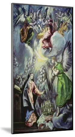 The Annunciation, about 1597/1600-El Greco-Mounted Giclee Print
