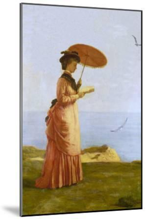Lady with Parasol Reading, Isle of Wight (Emily Prinsep)-Valentine Cameron Prinsep-Mounted Giclee Print
