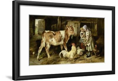 The Orphan, 1887-Walter Hunt-Framed Giclee Print