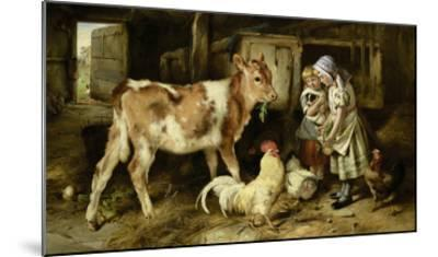 The Orphan, 1887-Walter Hunt-Mounted Giclee Print