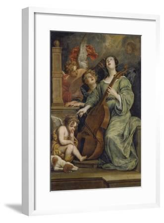 Saint Cecilia-Thomas Willeboirts-Framed Giclee Print
