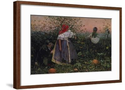 The Disturbed Tryst, 1888-Joza Uprka-Framed Giclee Print