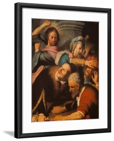 Christ Driving the Merchants from the Temple, 1626-Rembrandt van Rijn-Framed Giclee Print
