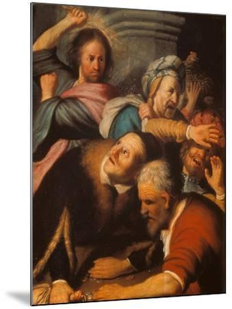 Christ Driving the Merchants from the Temple, 1626-Rembrandt van Rijn-Mounted Giclee Print