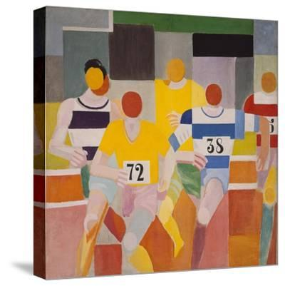 Les Coureurs, 1926-Robert Delaunay-Stretched Canvas Print
