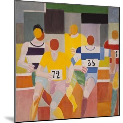 Les Coureurs, 1926-Robert Delaunay-Mounted Giclee Print