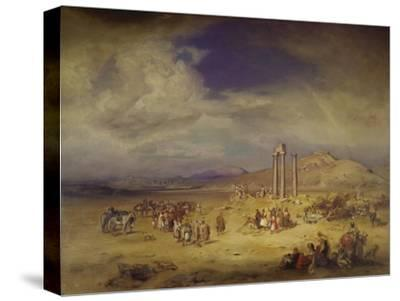 Nemea-Carl Rottmann-Stretched Canvas Print