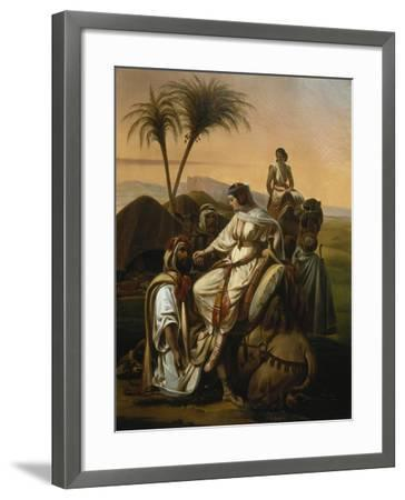 Arrival of the Ladies of the Harem, 1842-Henri-frederic Schopin-Framed Giclee Print