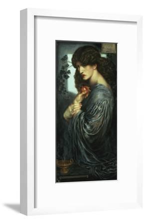 Proserpina, 1877-Dante Gabriel Rossetti-Framed Giclee Print