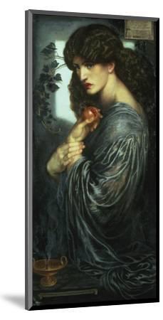 Proserpina, 1877-Dante Gabriel Rossetti-Mounted Giclee Print