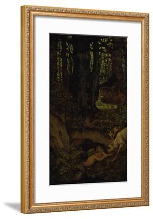 Nymps in the Forest Spring, ca. 1846-Moritz Von Schwind-Framed Giclee Print