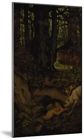 Nymps in the Forest Spring, ca. 1846-Moritz Von Schwind-Mounted Giclee Print