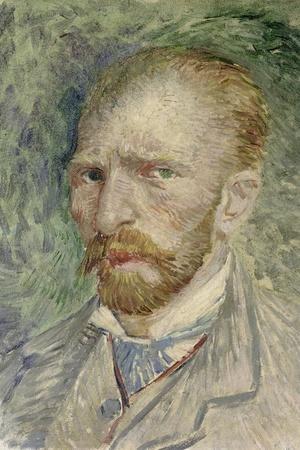Self-Portrait, 1887-Vincent van Gogh-Stretched Canvas Print