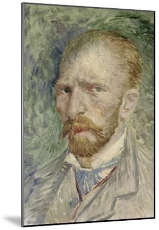 Self-Portrait, 1887-Vincent van Gogh-Mounted Giclee Print