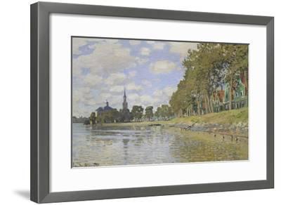 Zaandam, 1871-Claude Monet-Framed Giclee Print